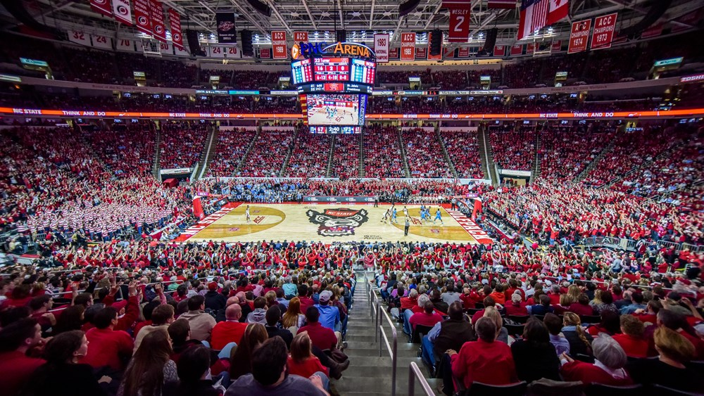 Pnc Arena Facilities Nc State University Athletics
