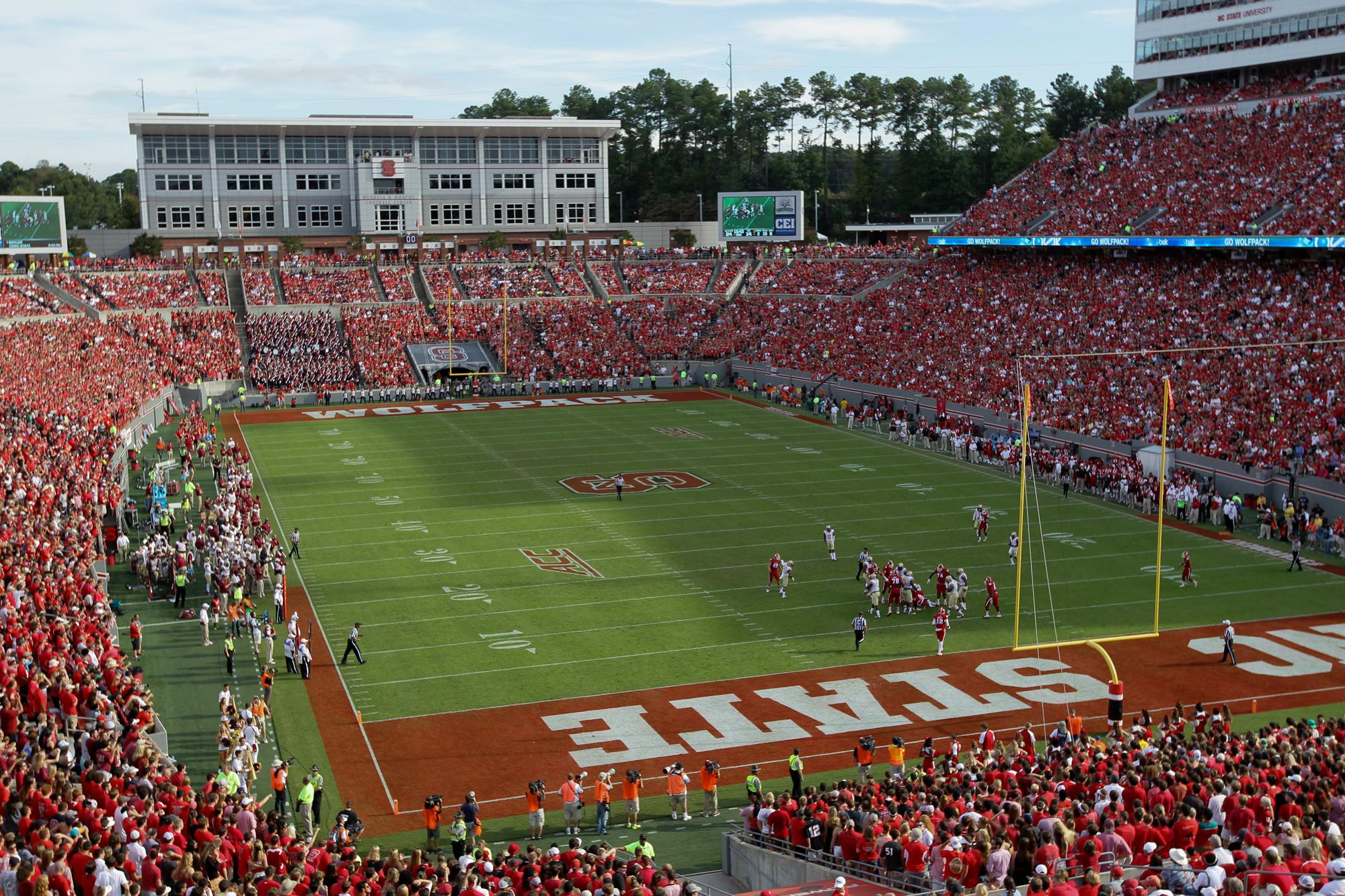 Carter Finley Stadium View Full Image