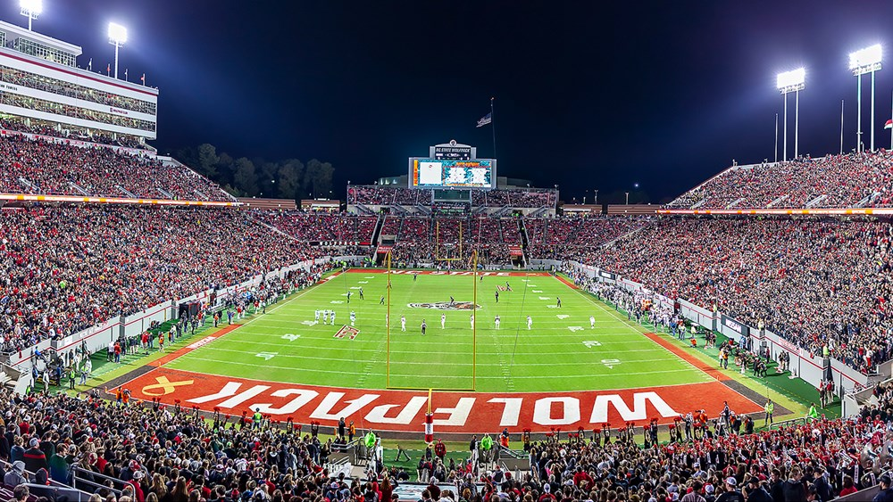 Carter-Finley Stadium - Facilities - NC State University Athletics on