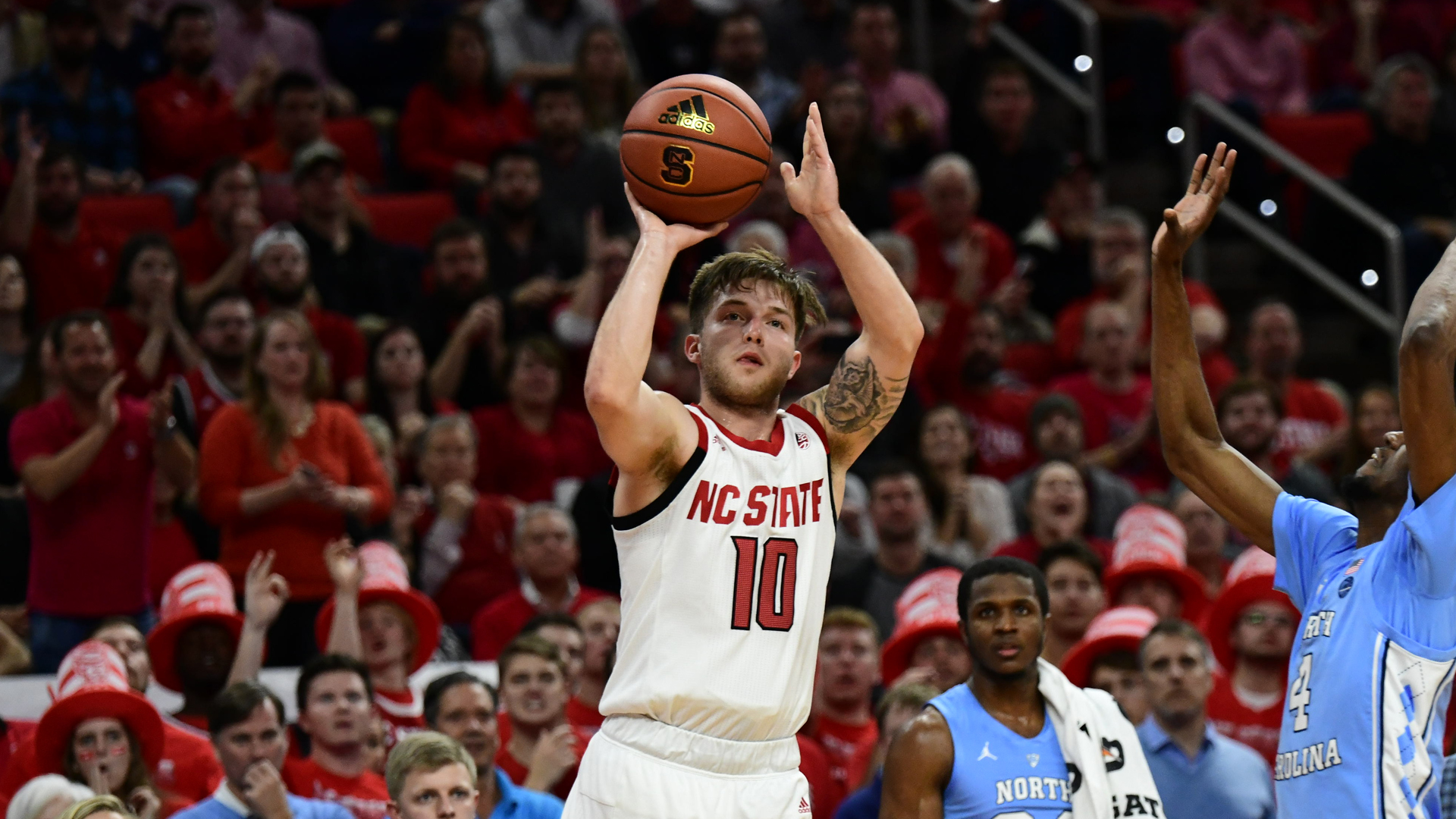 No 15 Wolfpack Falls To 12th Ranked Tar Heels Nc State University