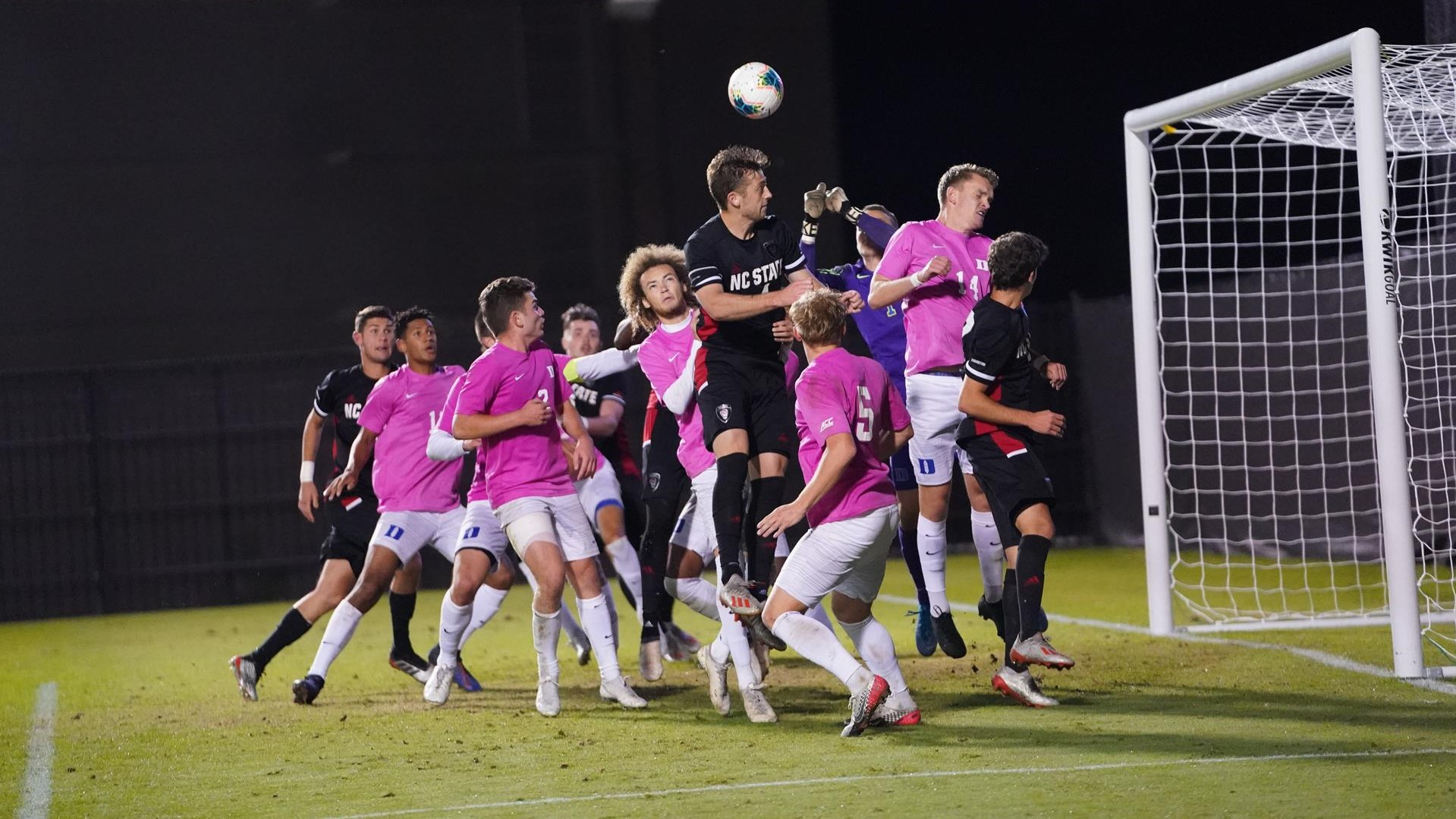 #23 NC State Plays to 0-0 Draw at Duke