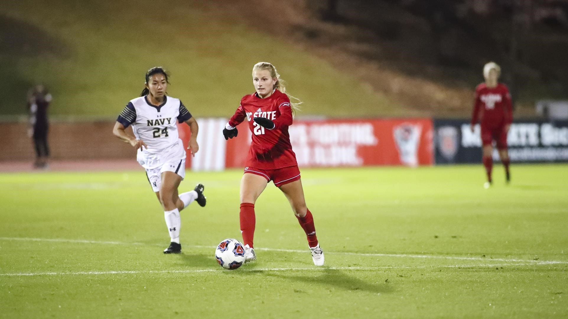 Wolfpack Sails Past Navy 3-0 In NCAA First Round