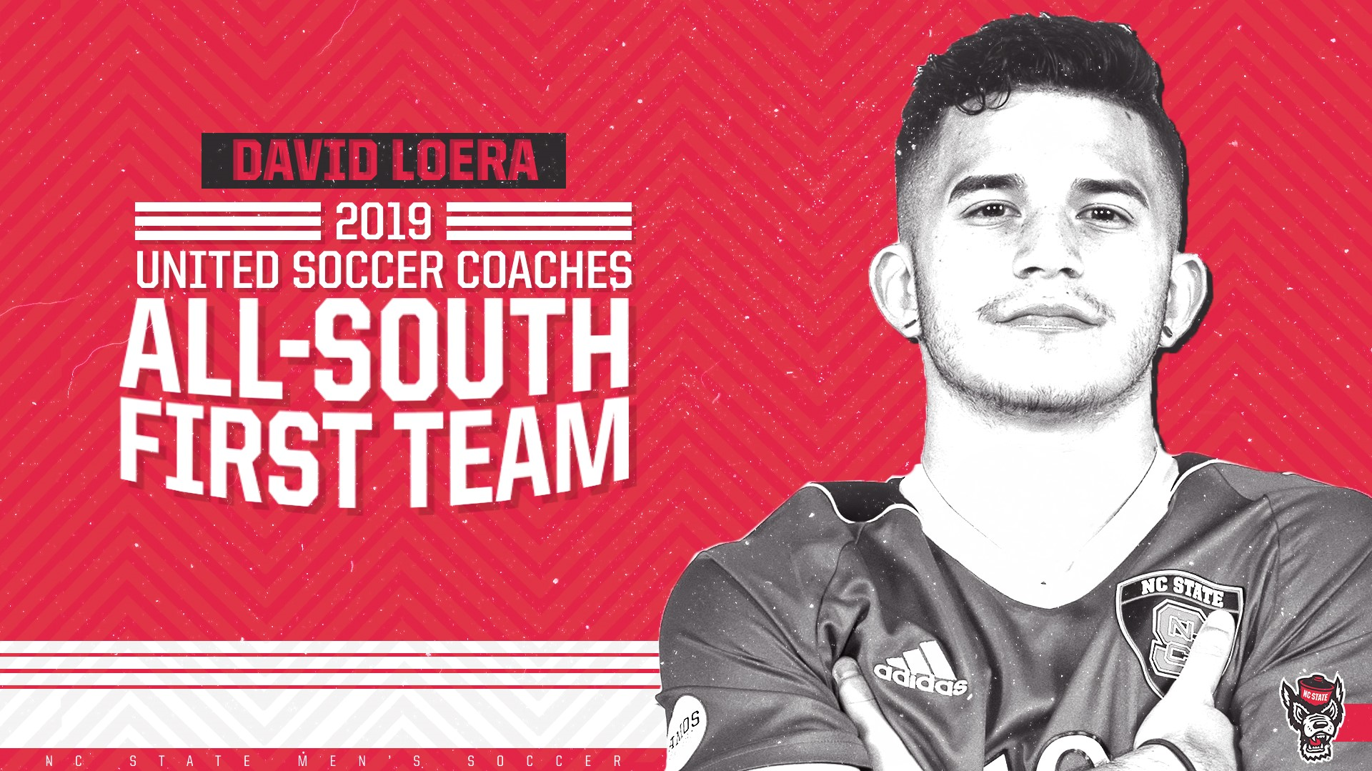 David Loera Earns First Team All-South Region Recognition