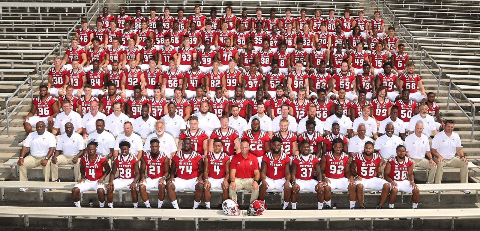 nc state football roster 2020