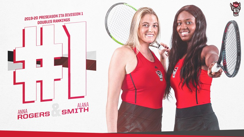 Rogers and Smith Tabbed No. 1 Doubles Duo, Five Singles Players Featured in Oracle/ITA Rankings